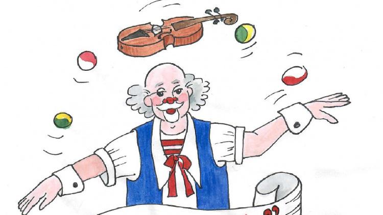 Clownen Vondo clownmagi för de minsta